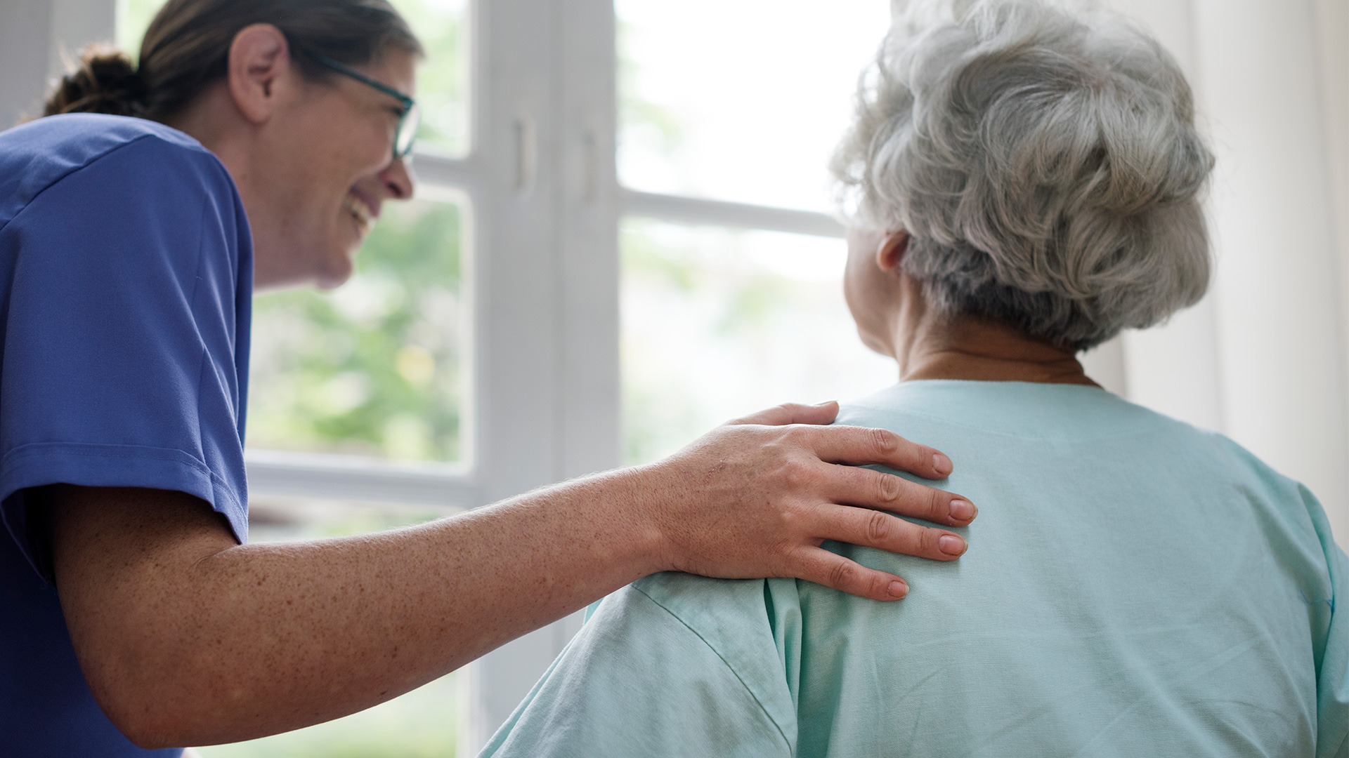 Our team is here to serve you, providing post acute, skilled nursing and rehabilitation services.
